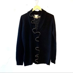 Alberto Makali Sweater black wool warm classic
